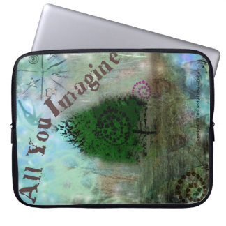 New Age Fantasy Pagen Laptop Cover All You Imagine Computer Sleeve