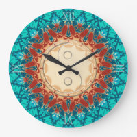 New Age Feng Shui Home Decor Wall Clock