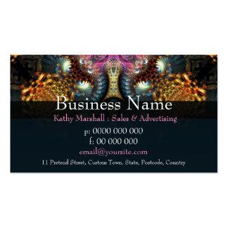 New Age Fractal Grande Business cards