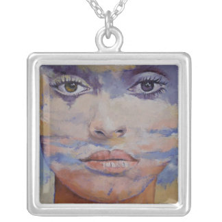 New Age Mona Lisa Necklace