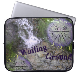 New Age Pagan Fantasy Laptop Cover Waiting Ground Computer Sleeves