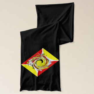 New Age spiral Scarf