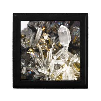 New Age Spiritual Crystal Rock Gemology Jewelry Box