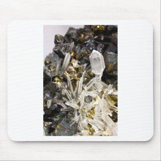 New Age Spiritual Crystal Rock Gemology Mouse Pad