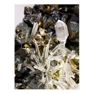 New Age Spiritual Crystal Rock Gemology Postcard