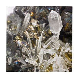 New Age Spiritual Crystal Rock Gemology Tile