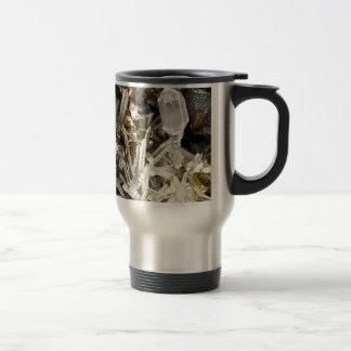 New Age Spiritual Crystal Rock Gemology Travel Mug