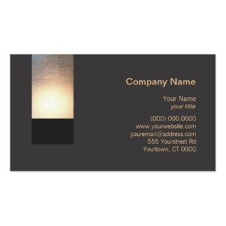 New Age Zen Glow Business Card