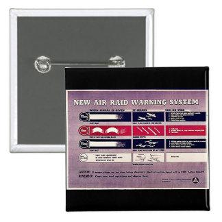 New Air Raid Warning System Pin