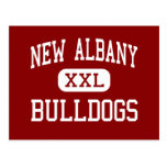 New Albany - Bulldogs - High - New Albany Indiana Postcards
