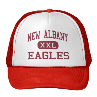 New Albany - Eagles - Middle - New Albany Ohio Trucker Hat