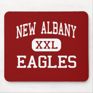 New Albany - Eagles - Middle - New Albany Ohio Mouse Pad
