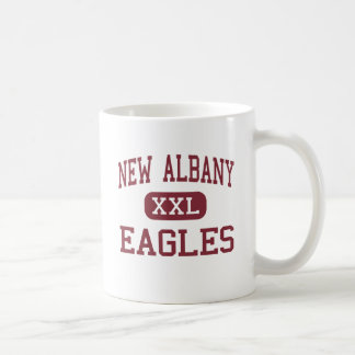 New Albany - Eagles - Middle - New Albany Ohio Classic White Coffee Mug