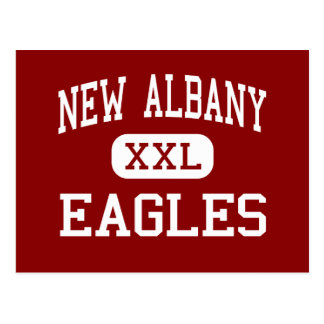 New Albany - Eagles - Middle - New Albany Ohio Postcard