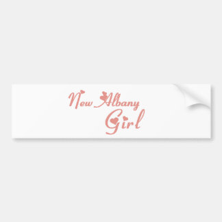 New Albany Girl tee shirts Bumper Stickers