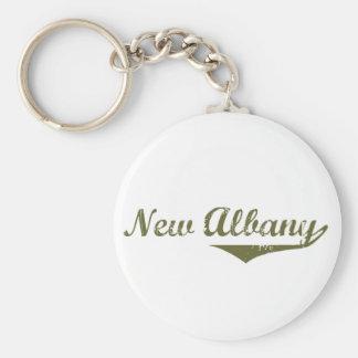 New Albany  Revolution t shirts Basic Round Button Keychain
