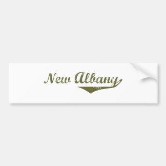 New Albany  Revolution t shirts Bumper Sticker