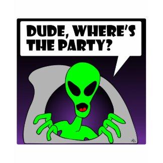 new alien party shirt