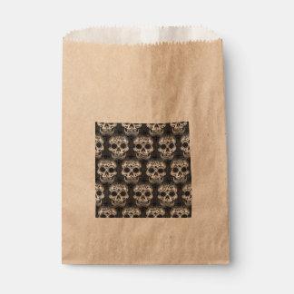 New allover skull pattern favor bag