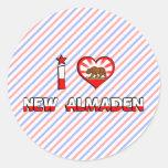 New Almaden, CA Sticker