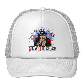 New America 4th of July Trucker Hat