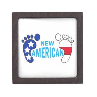 NEW AMERICAN BABY FEET PREMIUM JEWELRY BOX
