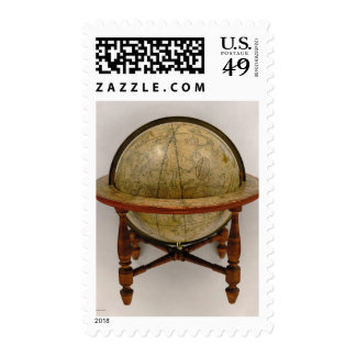 New American Celestial Globe Postage Stamps