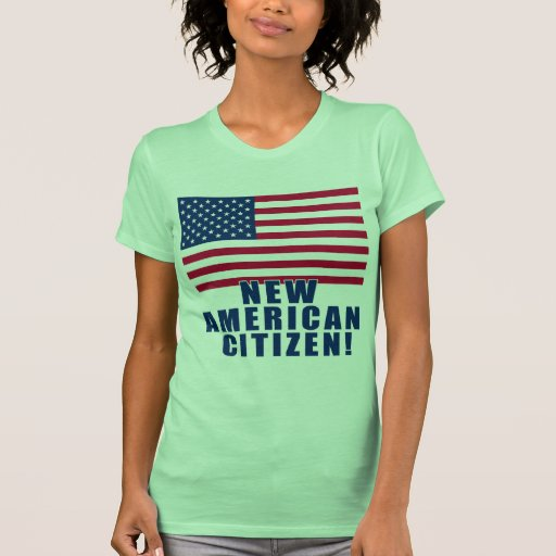 New American Citizen Gifts and Tshirts