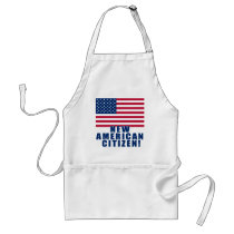 New American Citizen Gifts and Tshirts Adult Apron