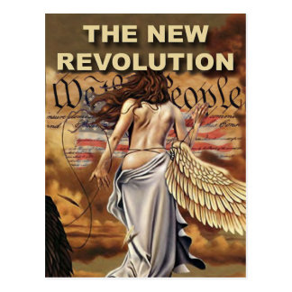 New American Revolution Postcards