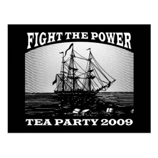 New American Tea Party 2009 Postcard