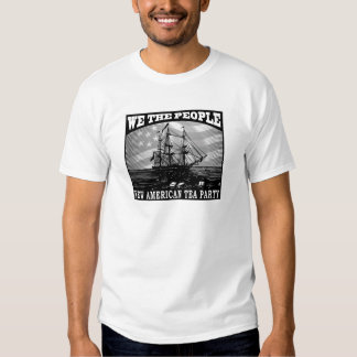 New American Tea Party 2009 T-shirt