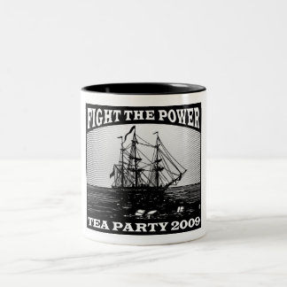 New American Tea Party 2009 Two-Tone Coffee Mug