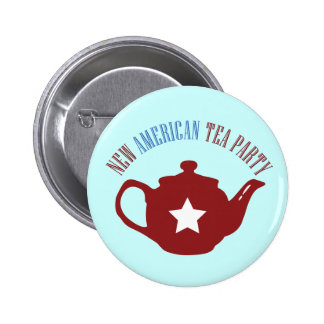 New American Tea Party Button