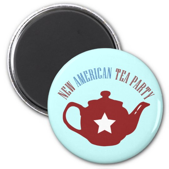 New American Tea Party Magnet