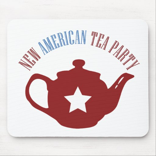 New American Tea Party Mouse Pad