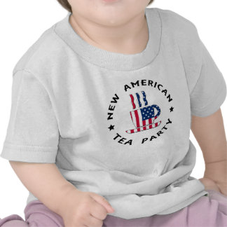 New American Tea Party T Shirts