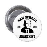 New Anarchist  --  Ludwig von Mises 2 Inch Round Button
