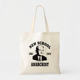 New Anarchist  --  Ludwig von Mises Canvas Bags