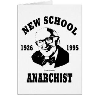 New Anarchist  --  Murray Rothbard Greeting Card