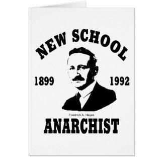 New Anarchists -- Friedrich A. Hayek Card