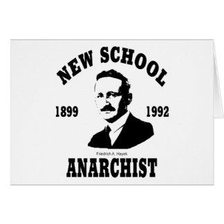 New Anarchists -- Friedrich A. Hayek Greeting Card
