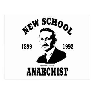 New Anarchists -- Friedrich A. Hayek Postcard
