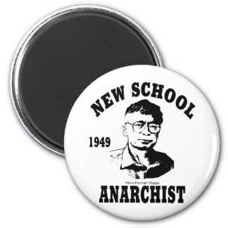 New Anarchists -- Hans-Hermann Hoppe 2 Inch Round Magnet