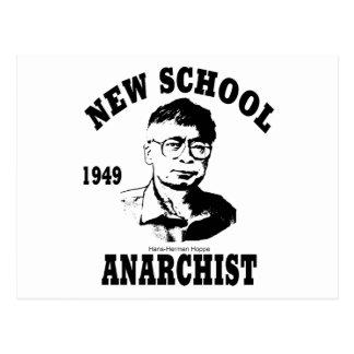 New Anarchists -- Hans-Hermann Hoppe Postcard
