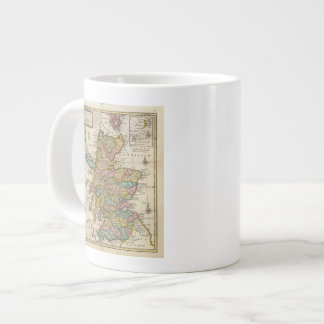 New and correct map of Scotland and the Isles Giant Coffee Mug