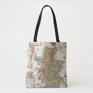 New and correct map of Scotland and the Isles Tote Bag
