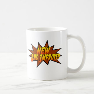 New And Improved (Style 1) Coffee Mug