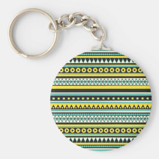 new andes basic round button keychain