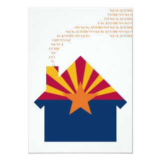 new arizona address card
